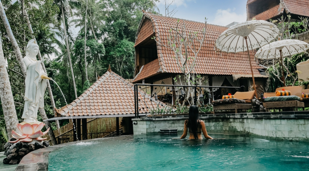 Jungle Lotus Villas Luxury Eco Friendly Traditional Balinese Villas Minutes From Central Ubud